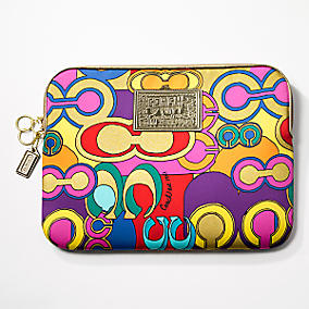 Coach Poppy laptop sleeve - $88.00, www.coach.com